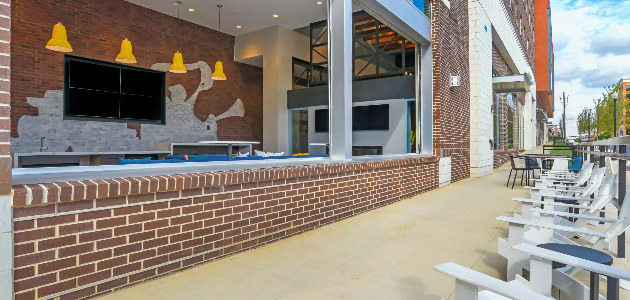 Exterior view of UNCOMMON Auburn in Auburn, Alabama