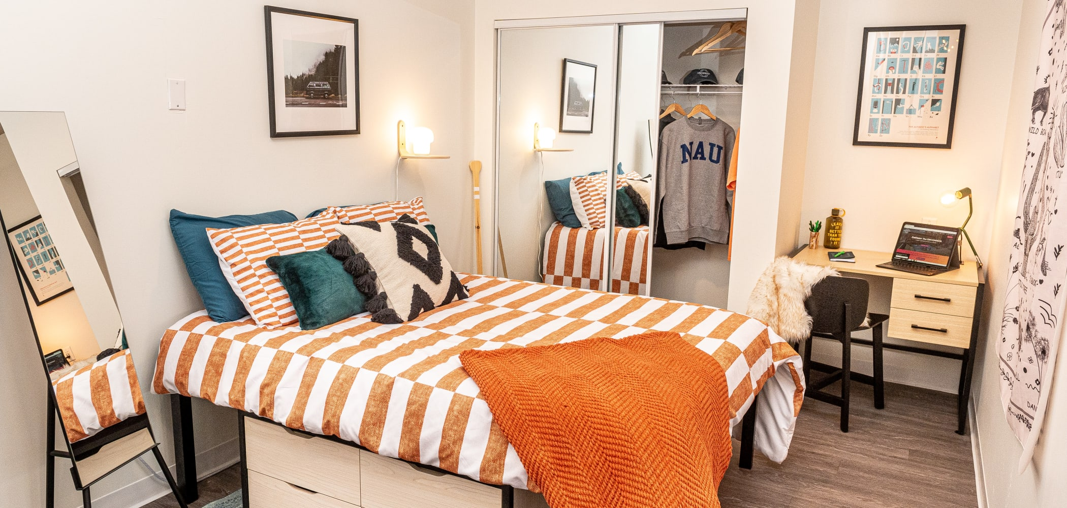 Bedroom at UNCOMMON Flagstaff in Flagstaff, Arizona