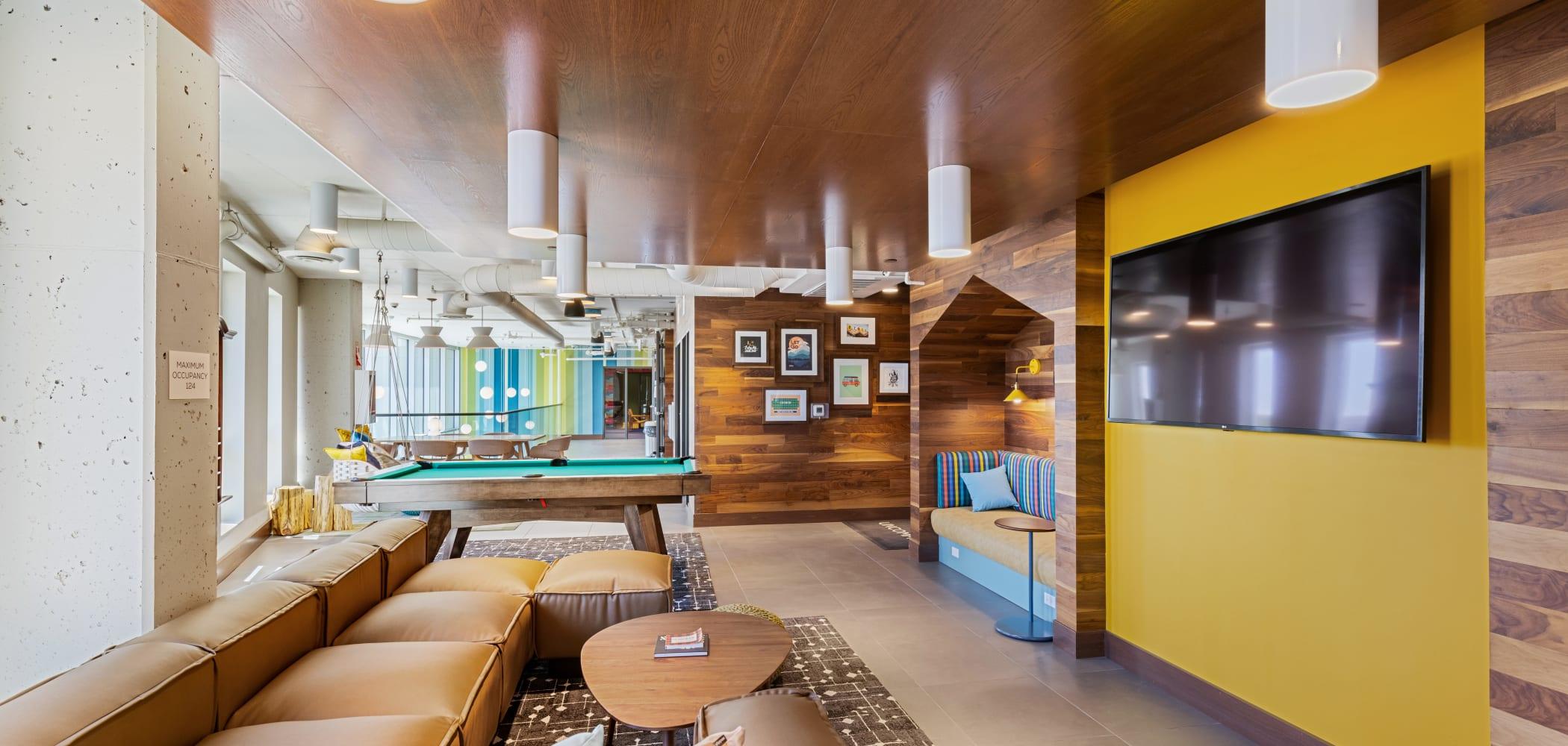 Community clubhouse at UNCOMMON Reno in Reno, Nevada