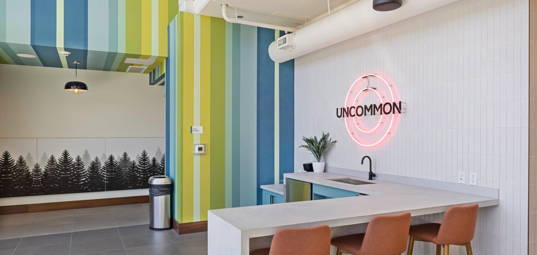 Private study room at UNCOMMON Reno in Reno, Nevada