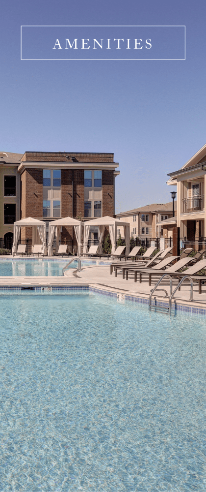 View our amenities at The Sawyer at One Bellevue Place in Nashville, Tennessee