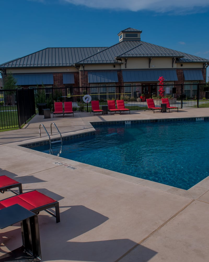 Resort style pool at Icon at Hewitt in Hewitt, Texas