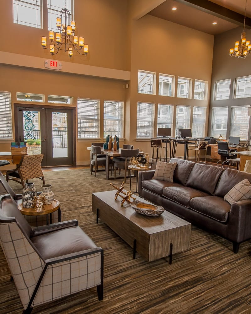 Clubhouse at Scissortail Crossing Apartments in Broken Arrow, Oklahoma
