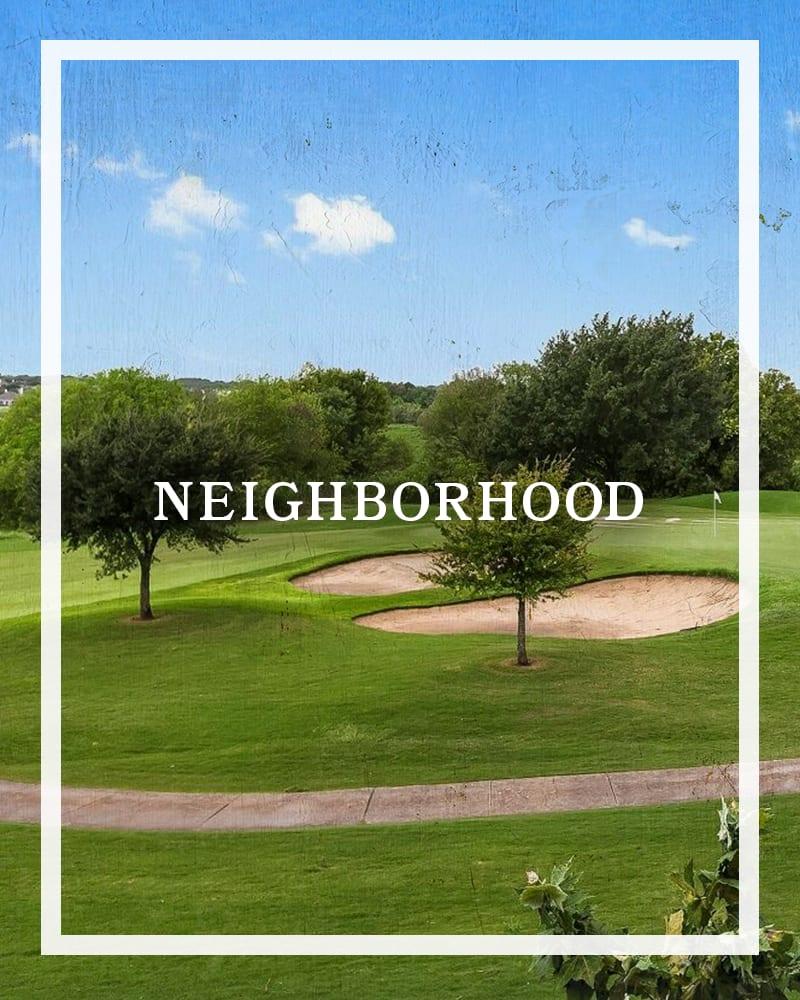 Explore the Neighborhood at Plum Creek Vue in Kyle, Texas