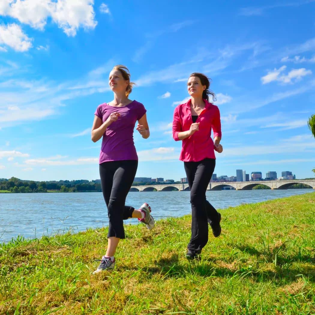 Women running near Alta Citizen in Newport News, Virginia