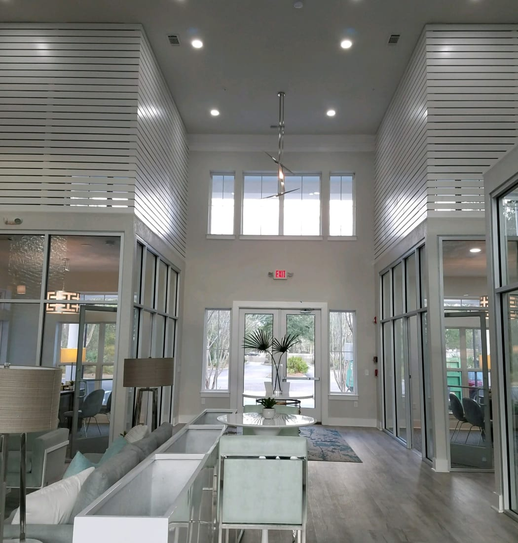 Resident clubhouse at Ingleside Plantation Apartments in North Charleston, South Carolina