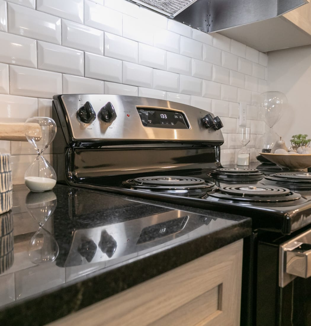 Stainless Steel Appliances at Highland Square in Atlanta, Georgia