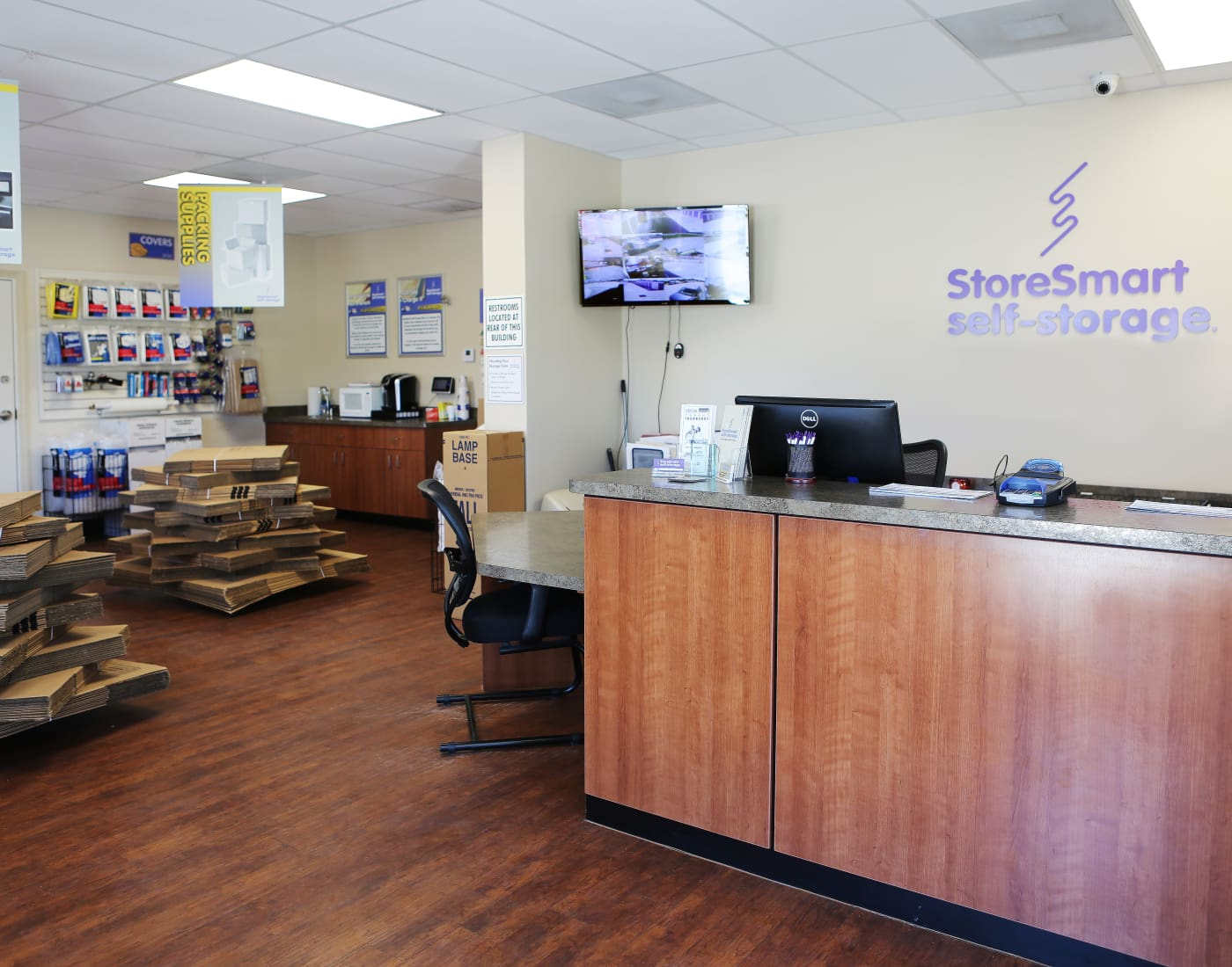 Packing and moving supplies for sale at StoreSmart Self-Storage in Melbourne, Florida
