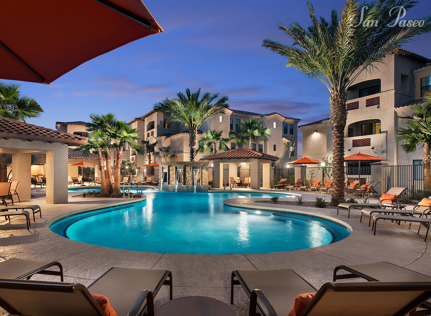 San Paseo apartments in Phoenix, Arizona