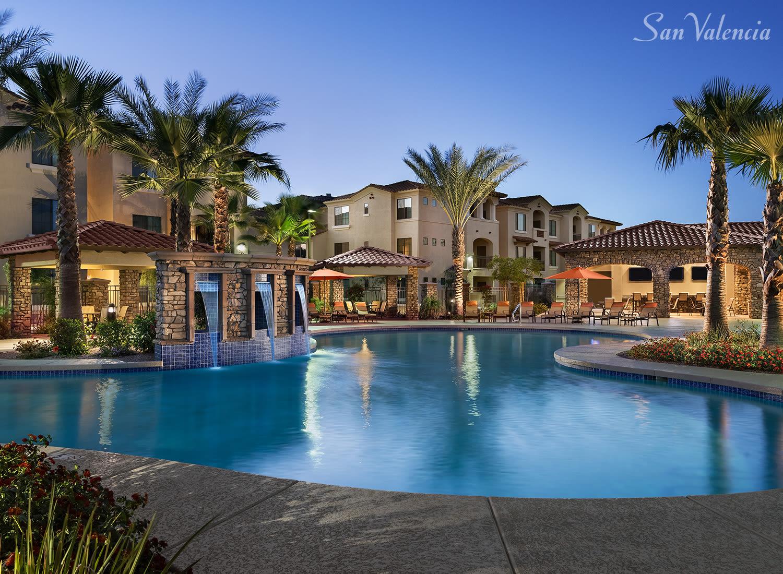 San Valencia apartments in Chandler, Arizona