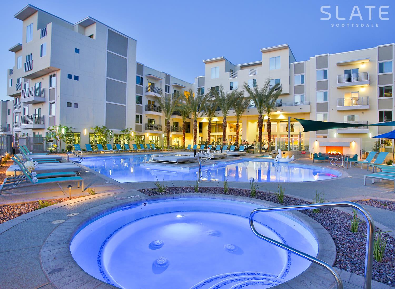 Slate Scottsdale apartments in Phoenix, Arizona