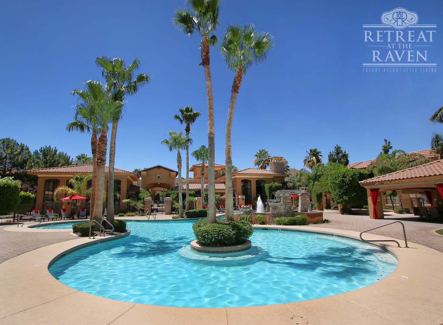 The Retreat at the Raven apartments in Tempe, Arizona