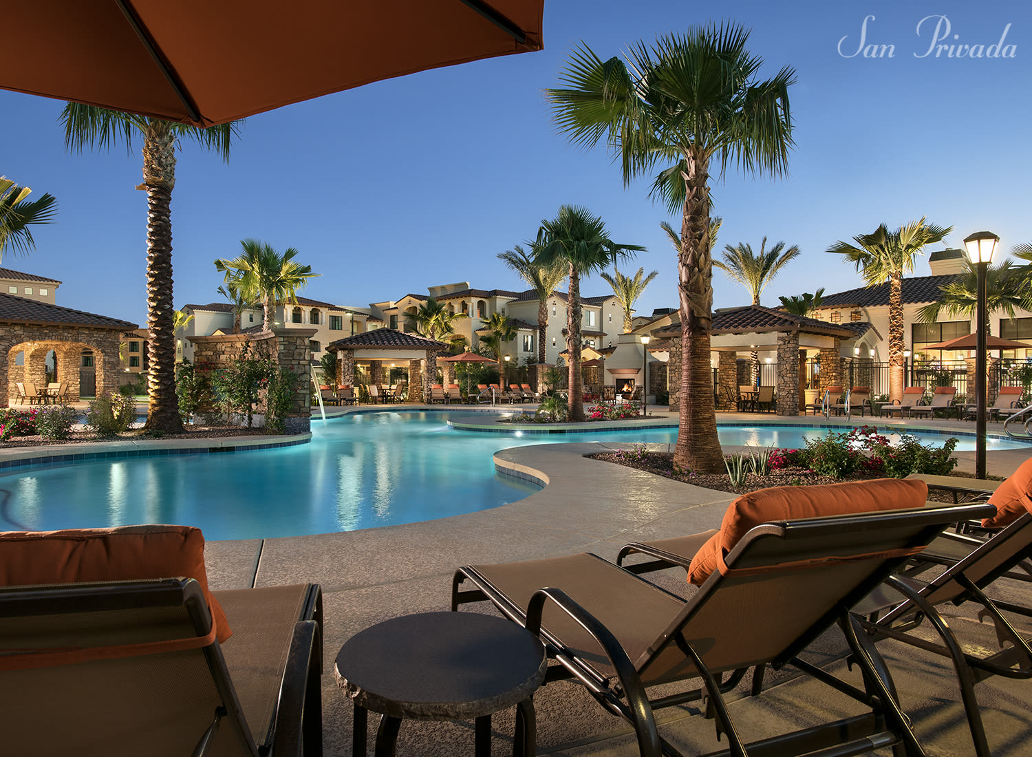 San Privada apartments in Gilbert, Arizona