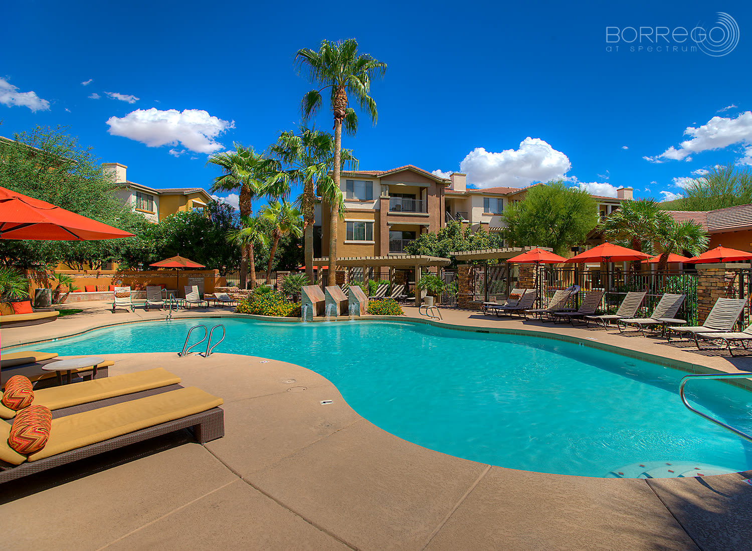 Borrego at Spectrum apartments in Gilbert, Arizona
