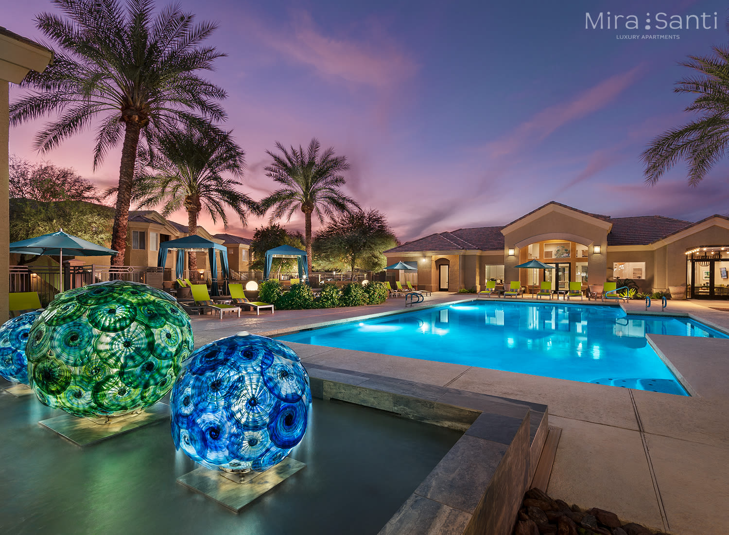 Mira Santi apartments in Chandler, Arizona