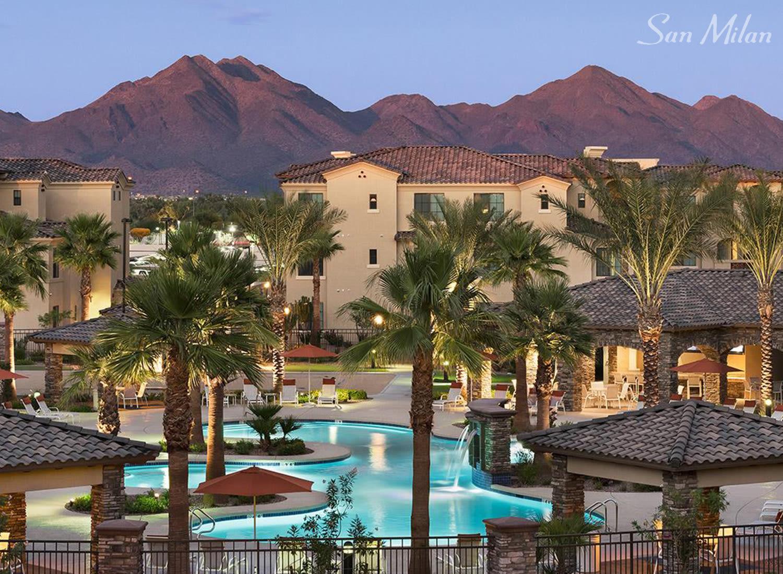 San Milan apartments in Phoenix, Arizona