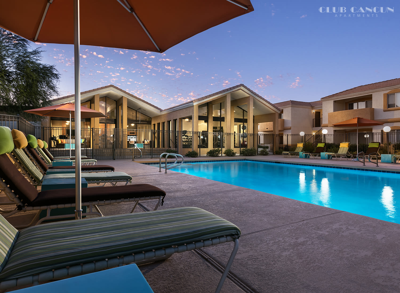 Club Cancun apartments in Chandler, Arizona