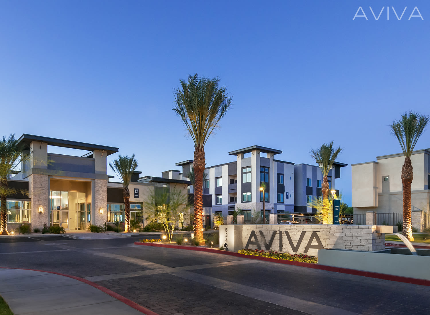 Aviva apartments in Mesa, Arizona