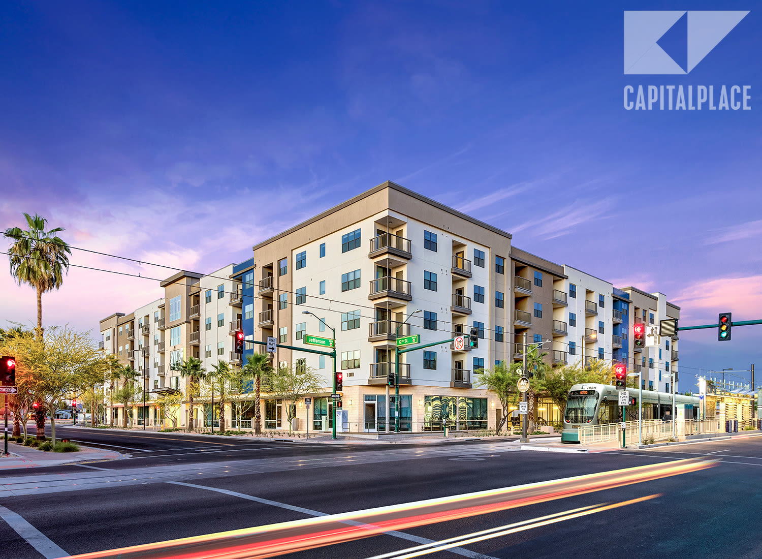 Capital Place apartments in Phoenix, Arizona