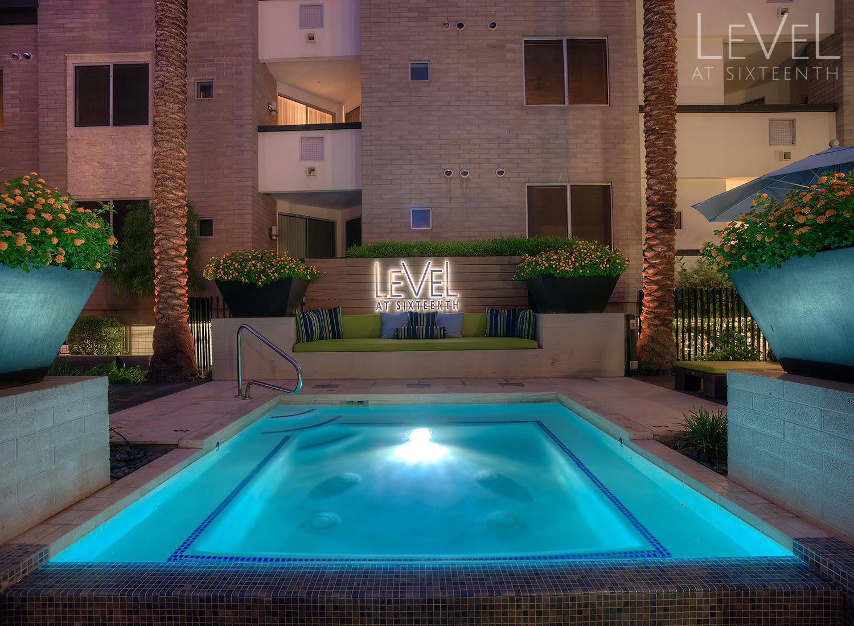 Level at Sixteenth apartments in Phoenix, Arizona