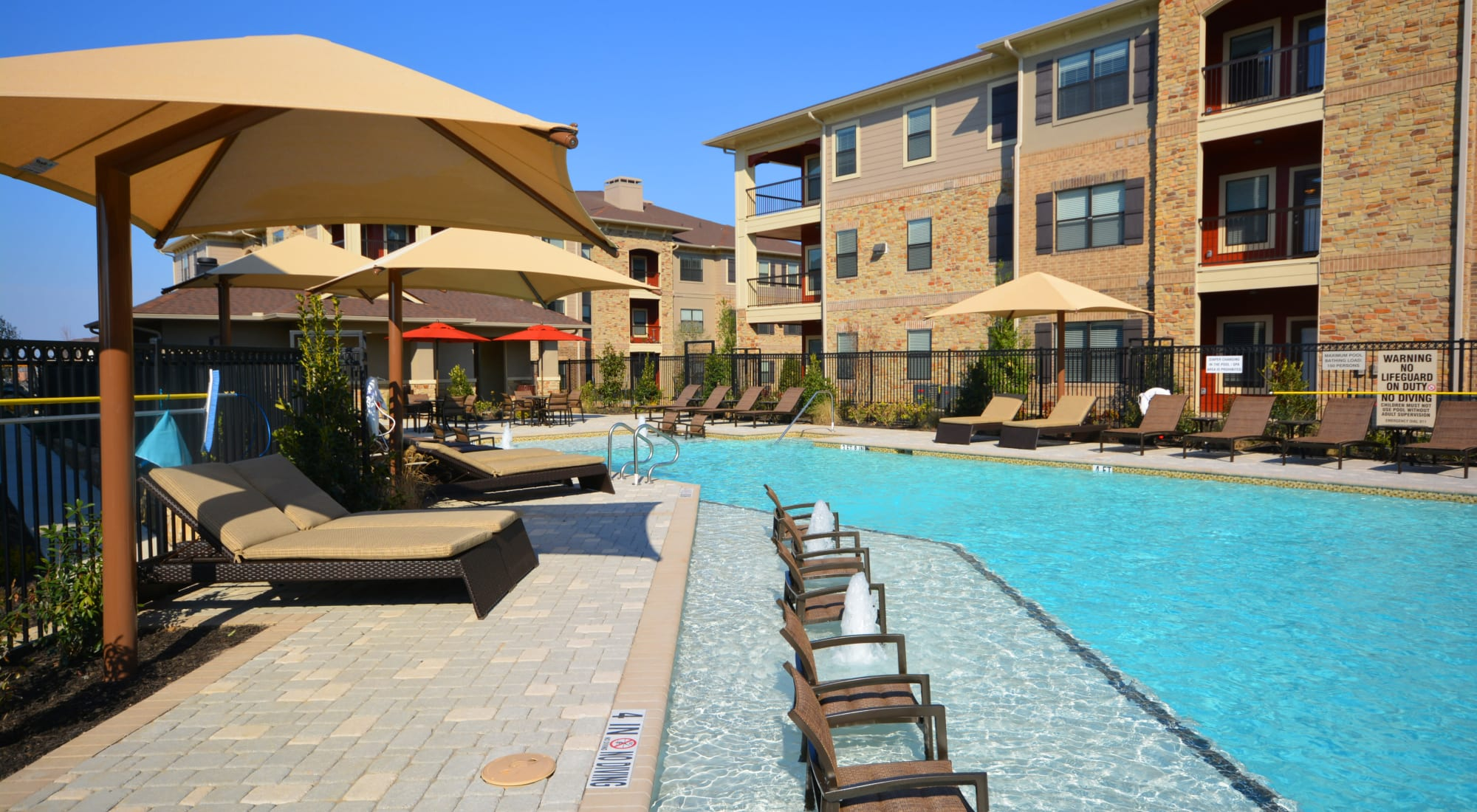 The Sovereign apartments in Fort Worth, Texas