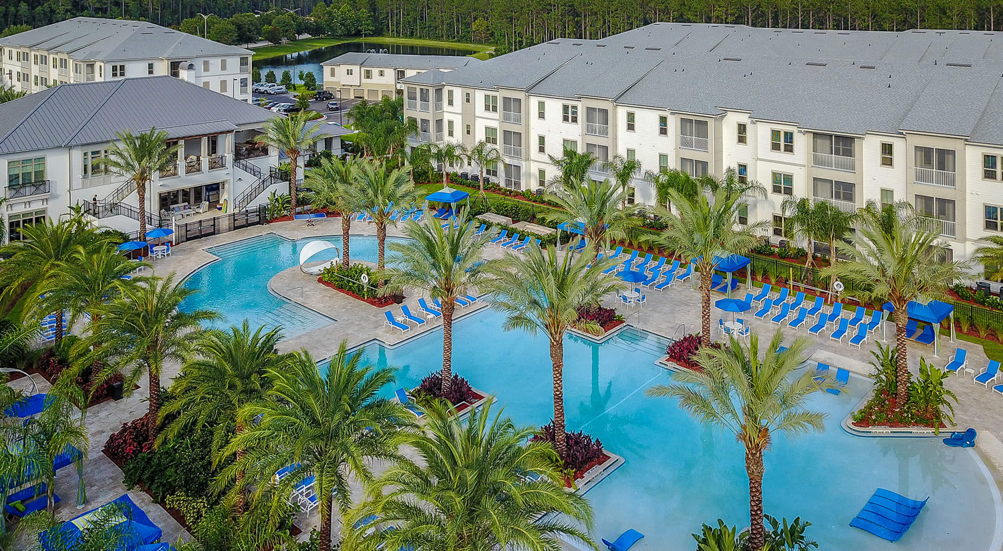 Apartments at Palm Bay Club in Jacksonville, Florida