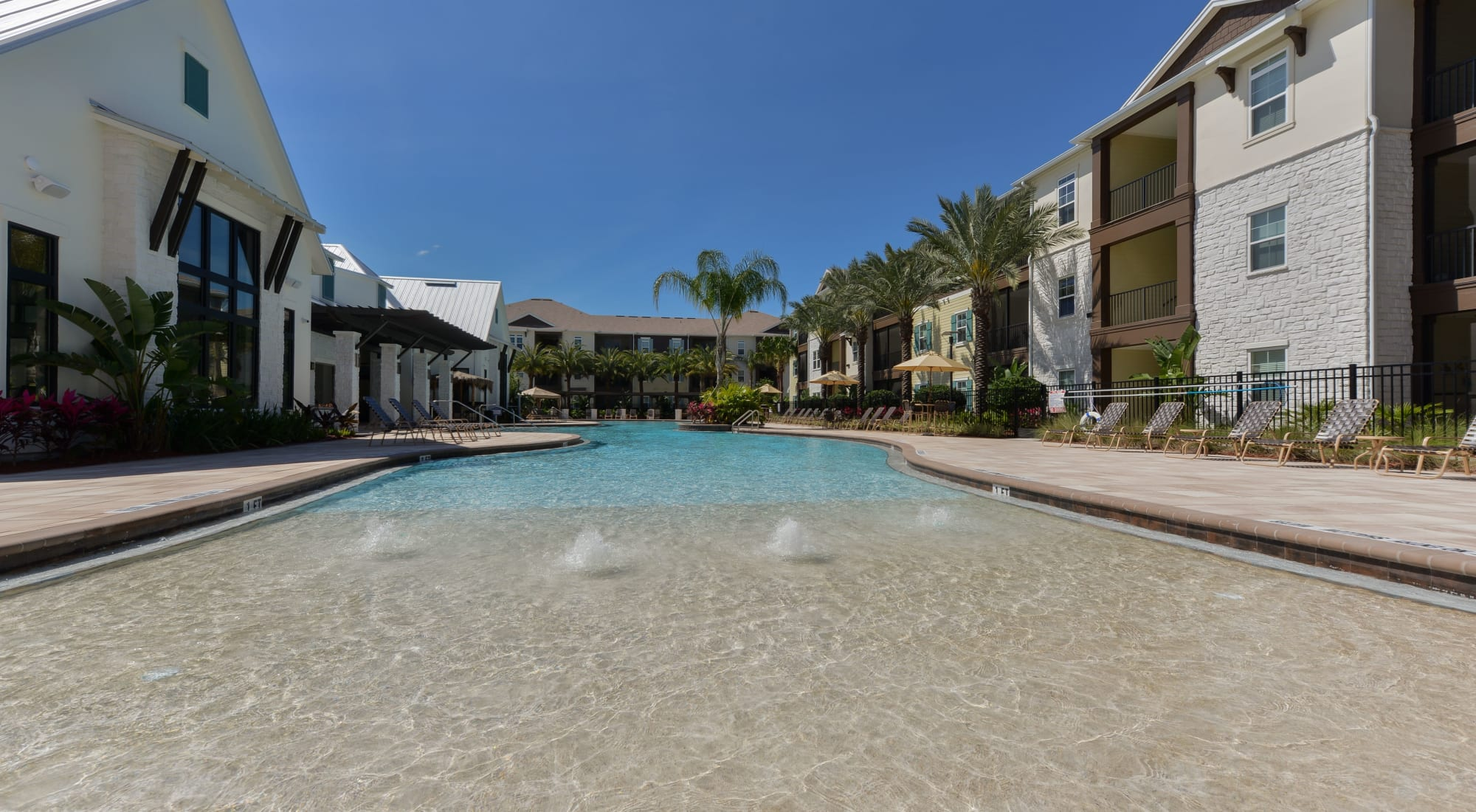Apartments at Cabana Club and Galleria Club in Jacksonville, Florida