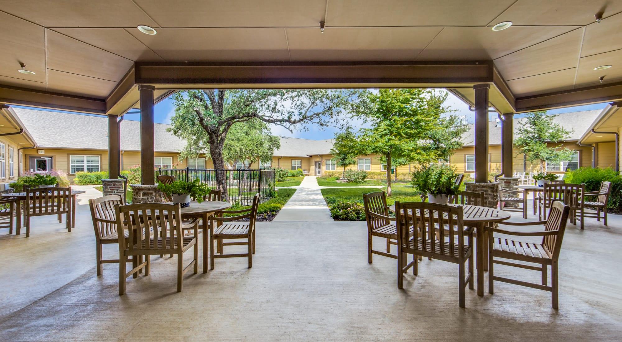 Senior living at The Landing at Stone Oak in San Antonio, Texas