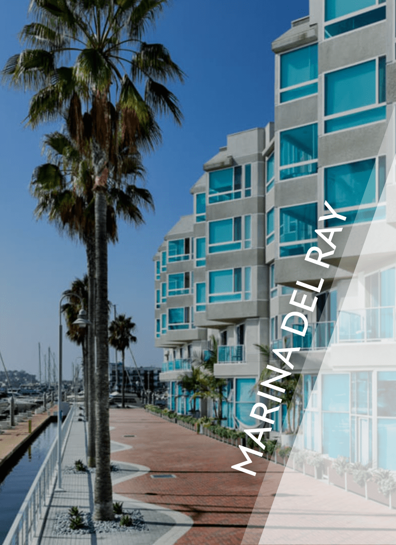 View luxury apartment communities in Marina del Rey by E&S Ring Management Corporation in Los Angeles, California