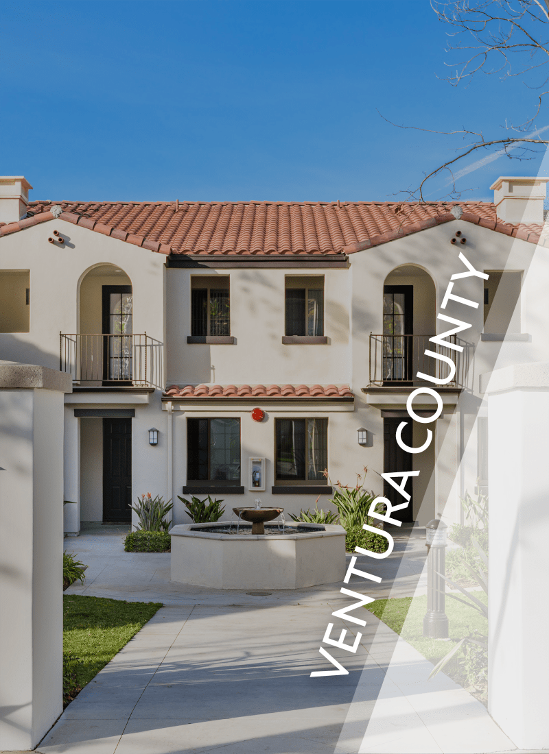 View luxury apartment communities in Ventura County by E&S Ring Management Corporation in Los Angeles, California