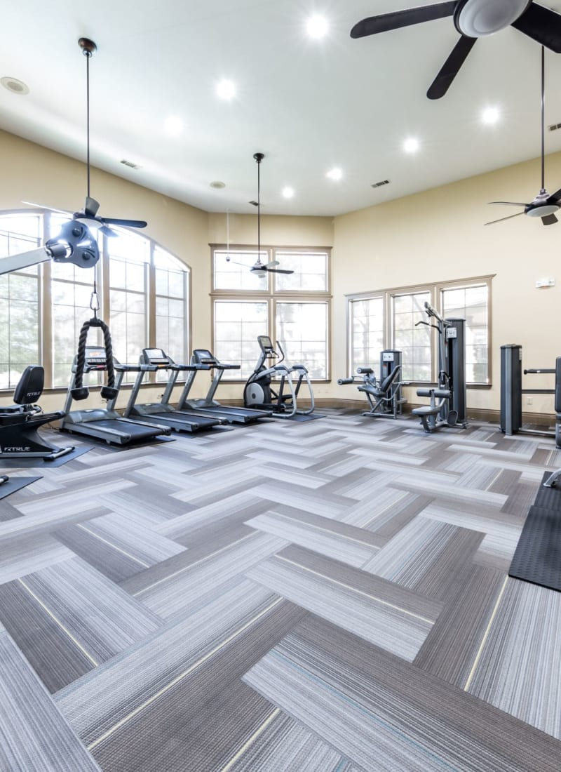 Fitness center at The Marquis at Brushy Creek in Austin, Texas