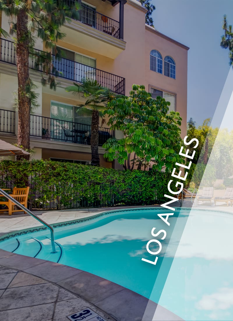 View luxury apartment communities in Los Angeles by E&S Ring Management Corporation in Los Angeles, California