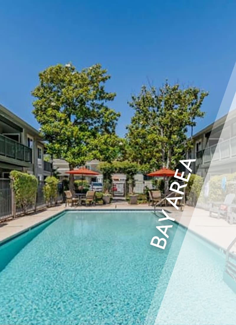 View luxury apartment communities in Pleasanton by E&S Ring Management Corporation in Los Angeles, California