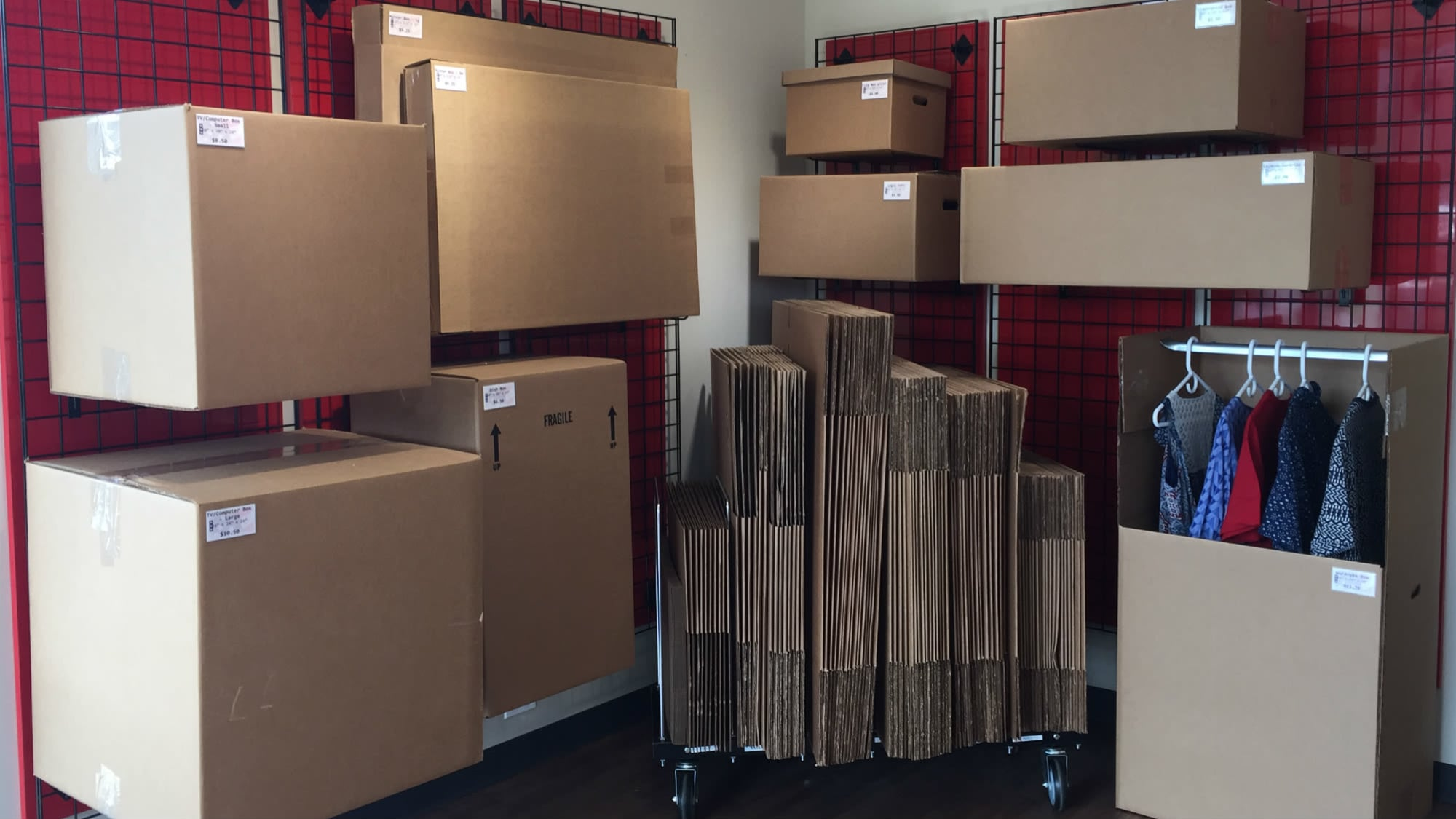 Self Storage Plus sells packing and moving supplies in Owings Mills
