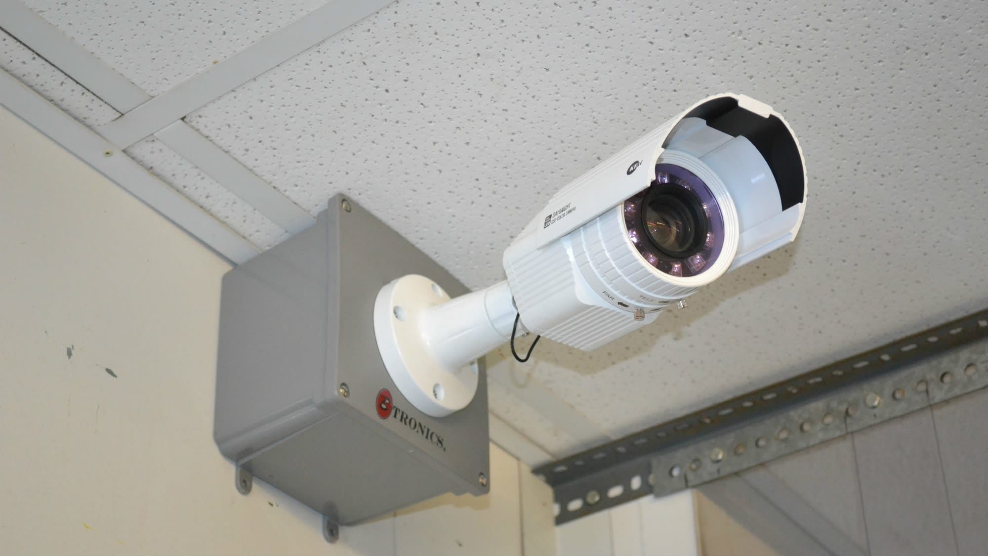 Security camera at Self Storage Plus in Baltimore, MD