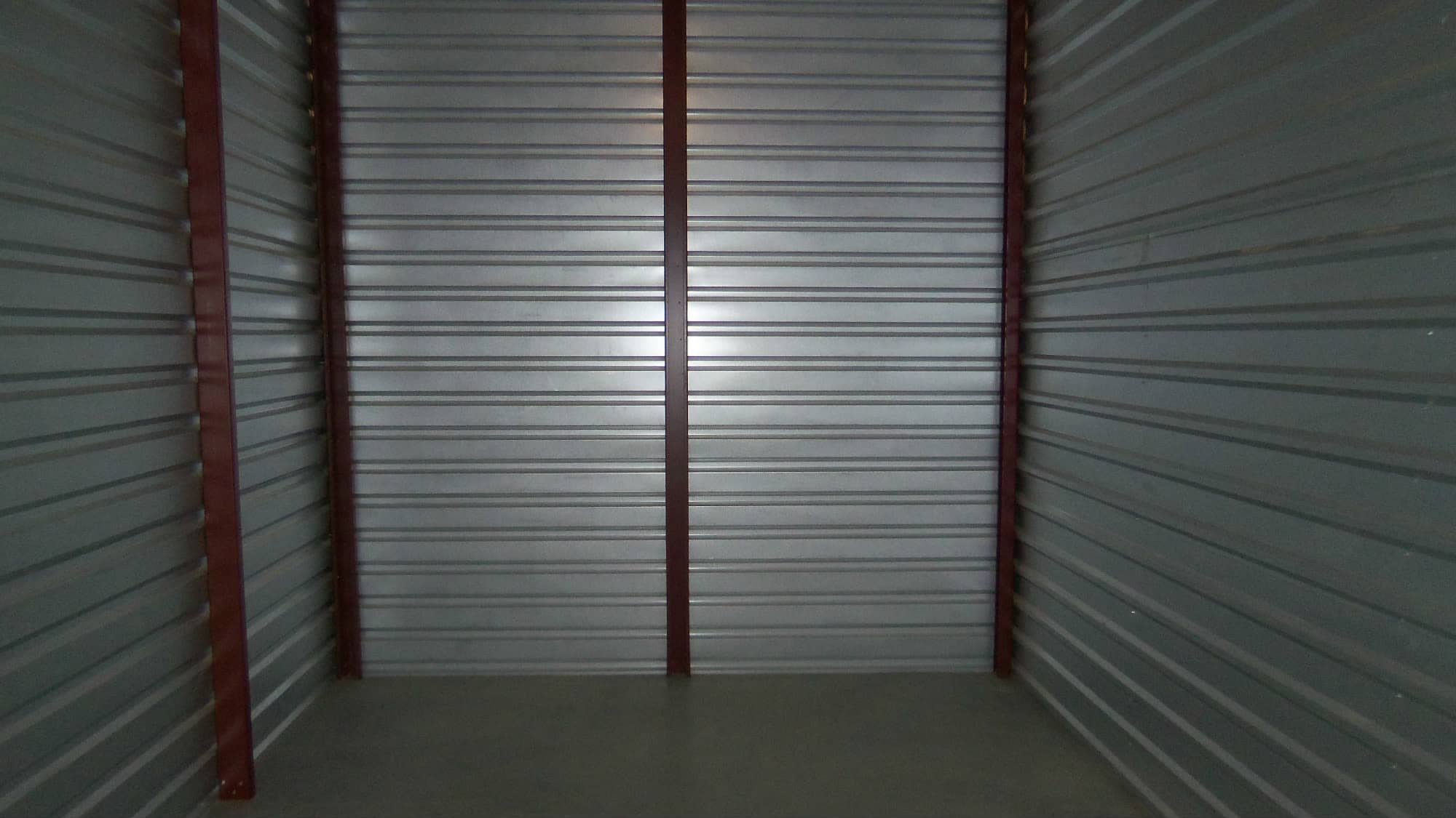Interior view of a unit at Self Storage Plus in Walkersville, MD