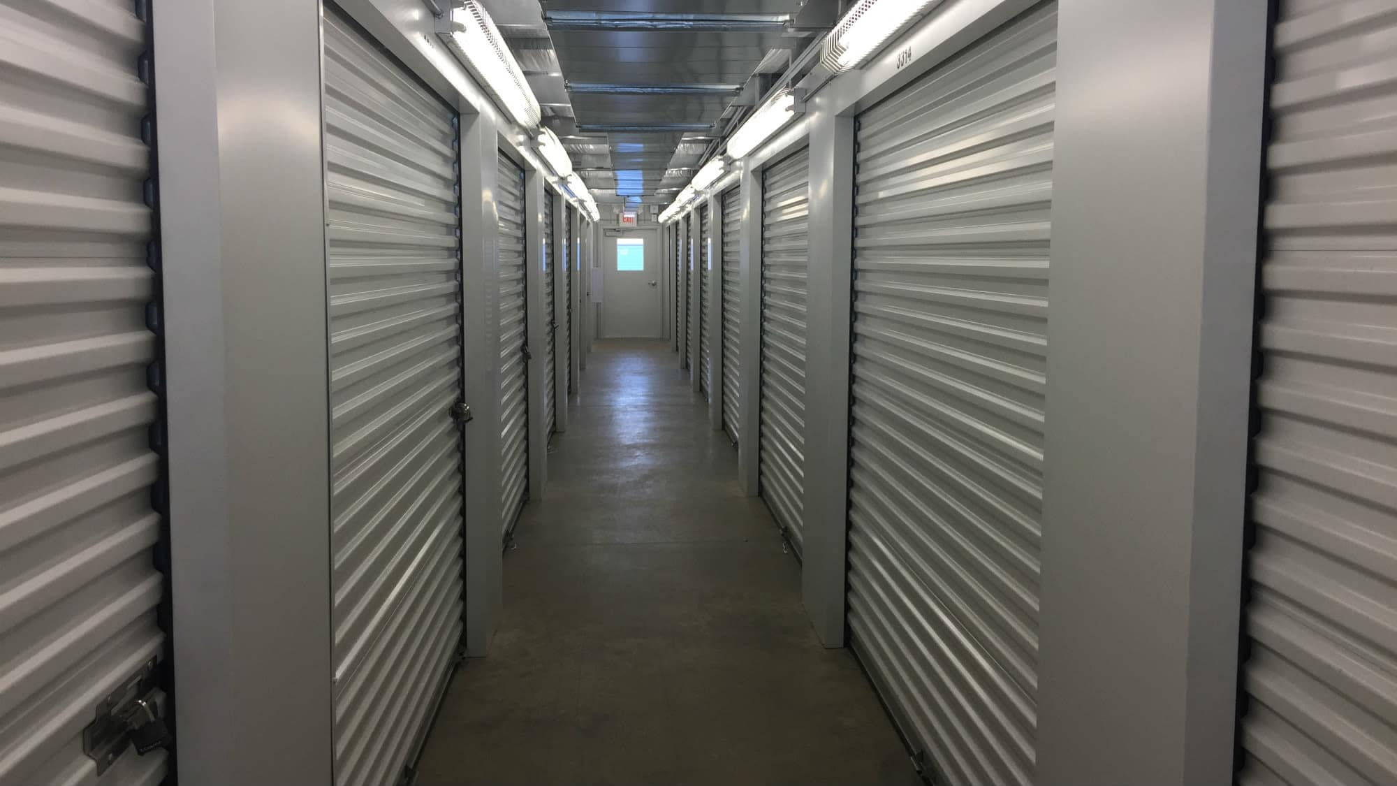 Well-kept interiors at Self Storage Plus in La Plata, MD