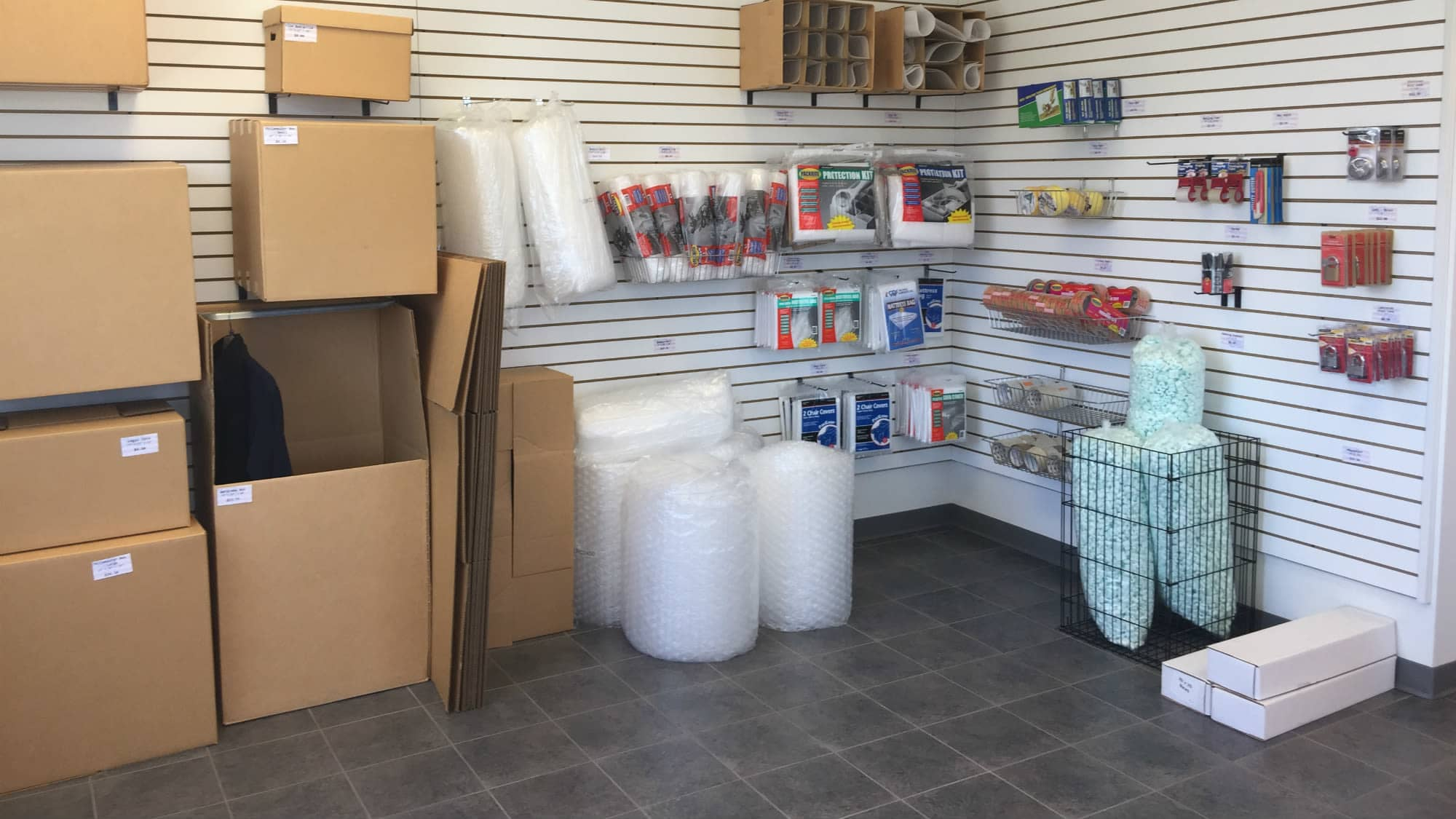 Packing and moving supplies for sale at Self Storage Plus in La Plata, MD