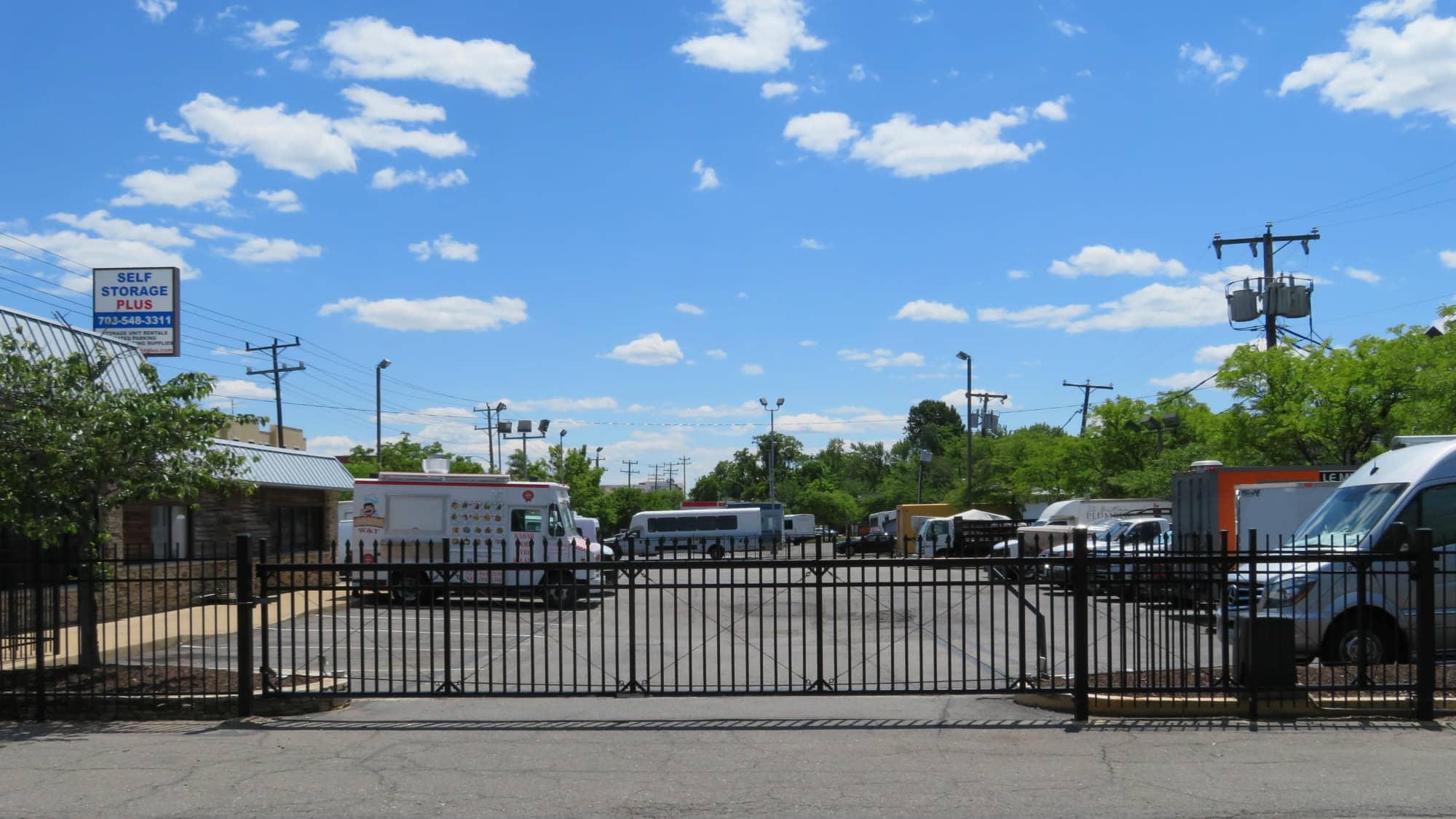 Gate at Self Storage Plus in Alexandria, VA
