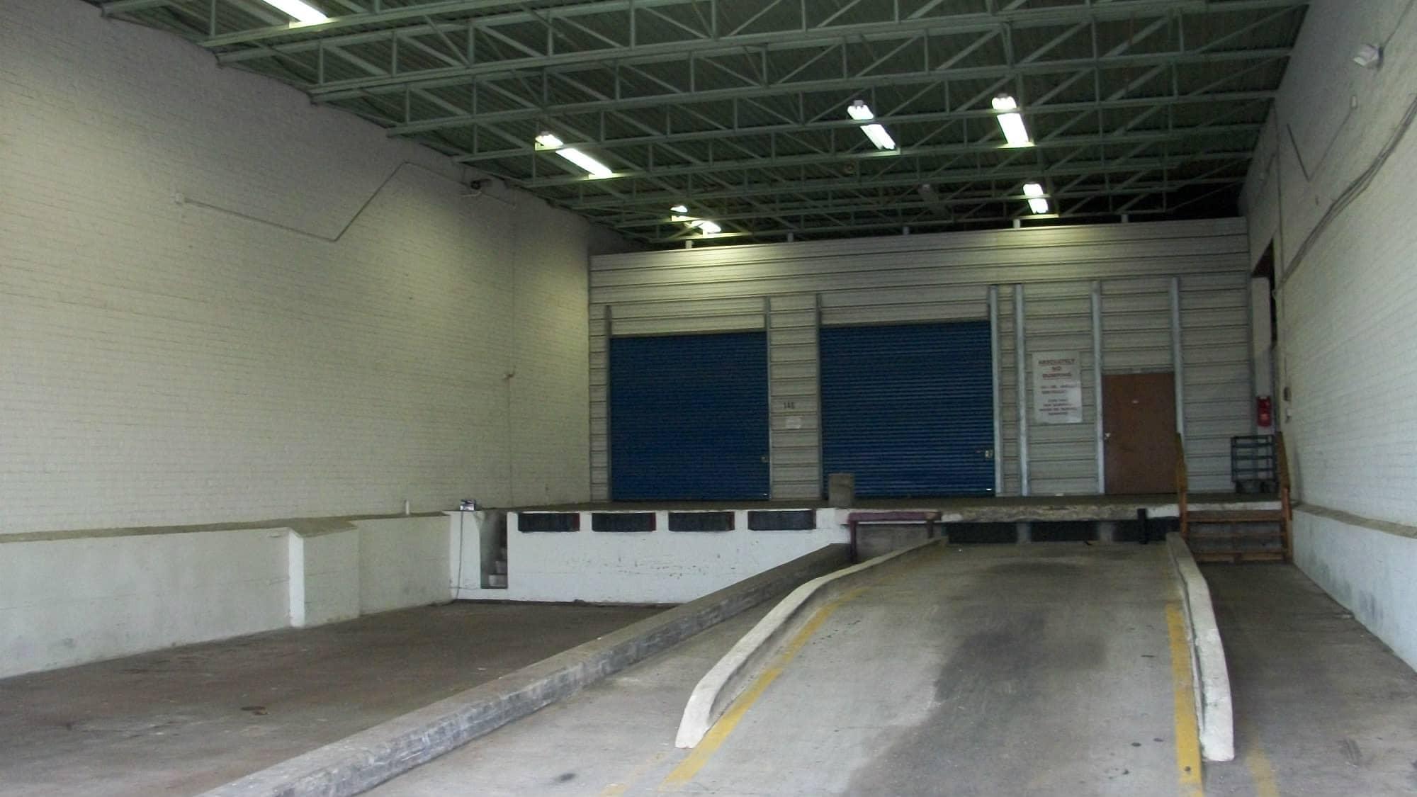 Loading dock at Self Storage Plus in Alexandria, VA