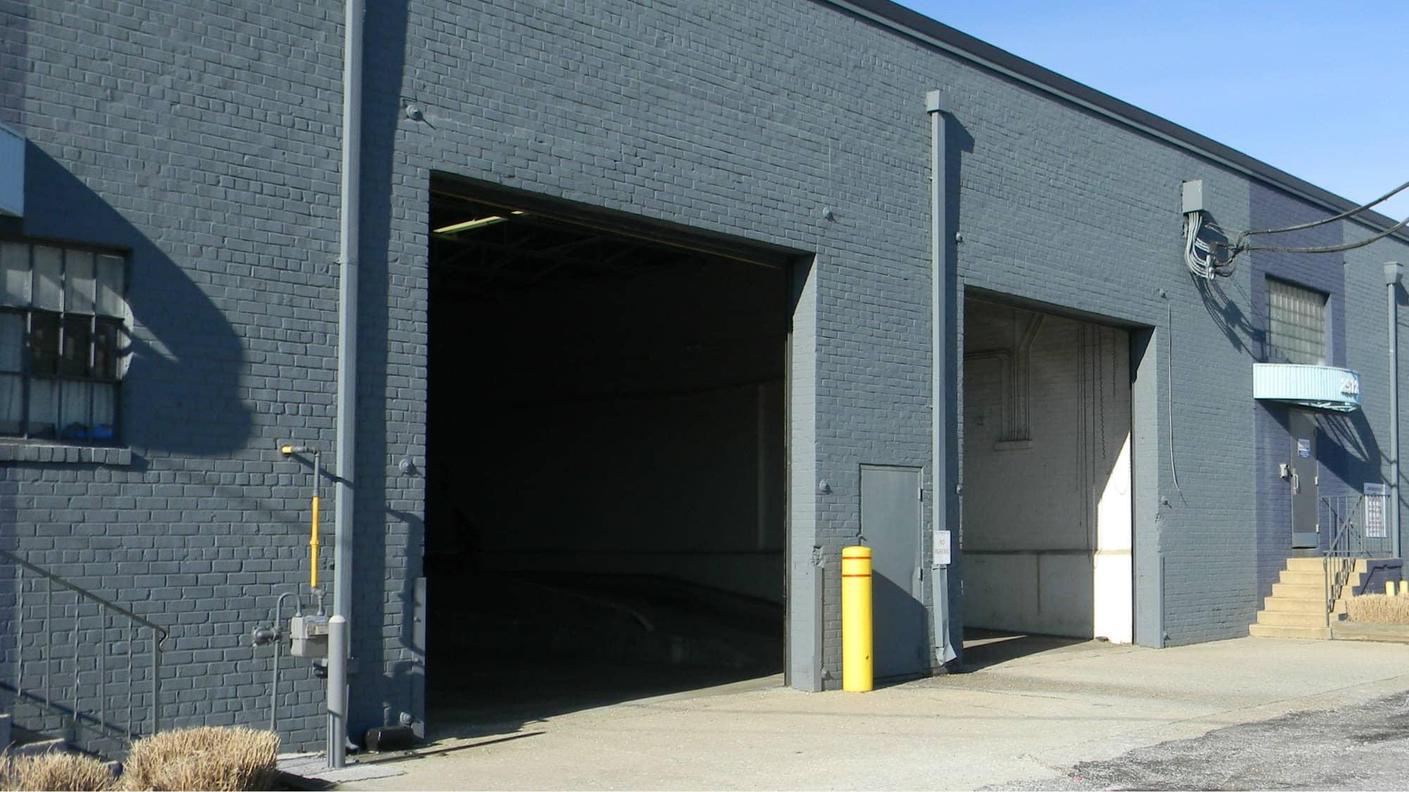 Open unit at Self Storage Plus in Alexandria, VA