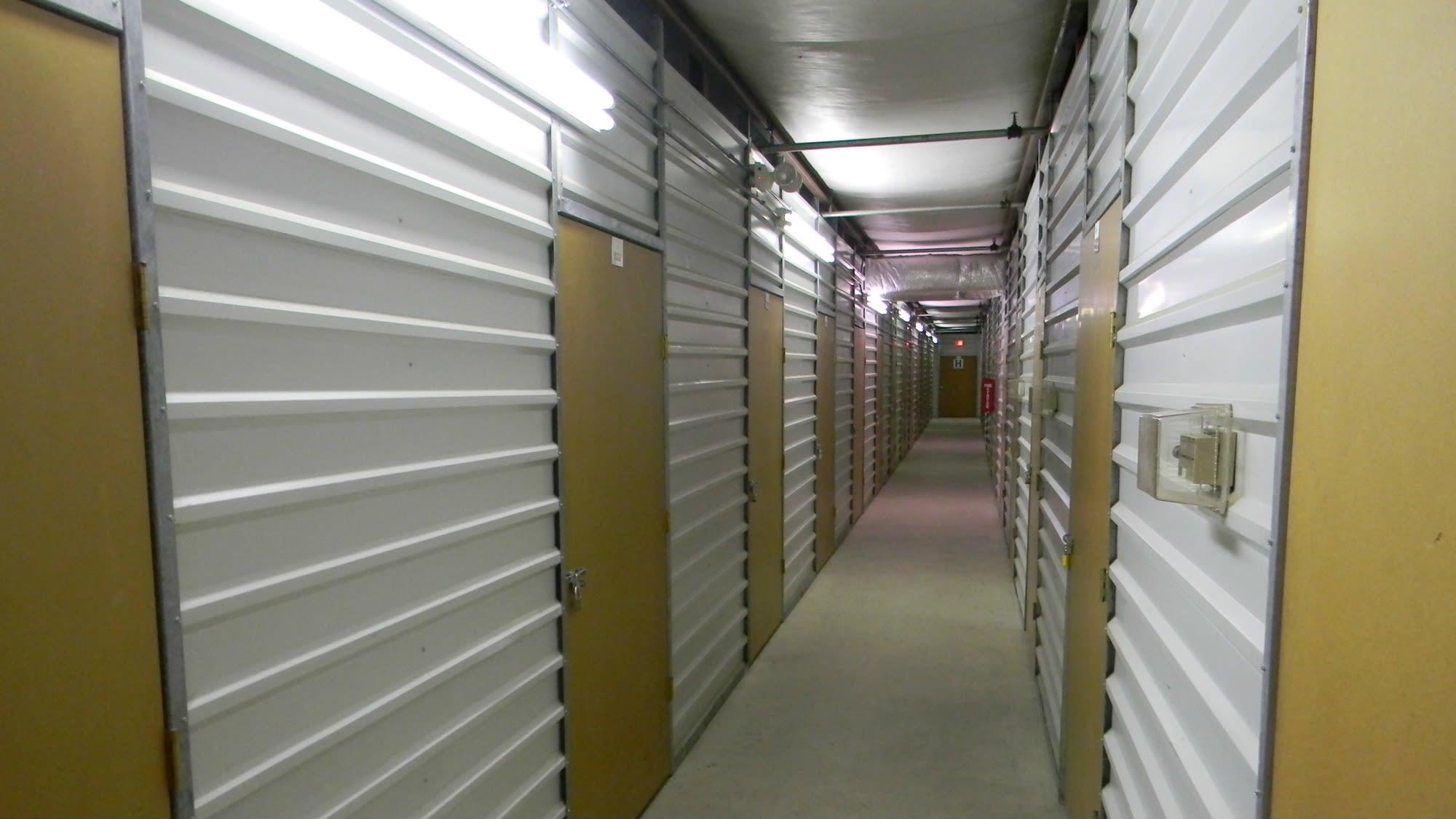 Interior units at Self Storage Plus in Alexandria, VA