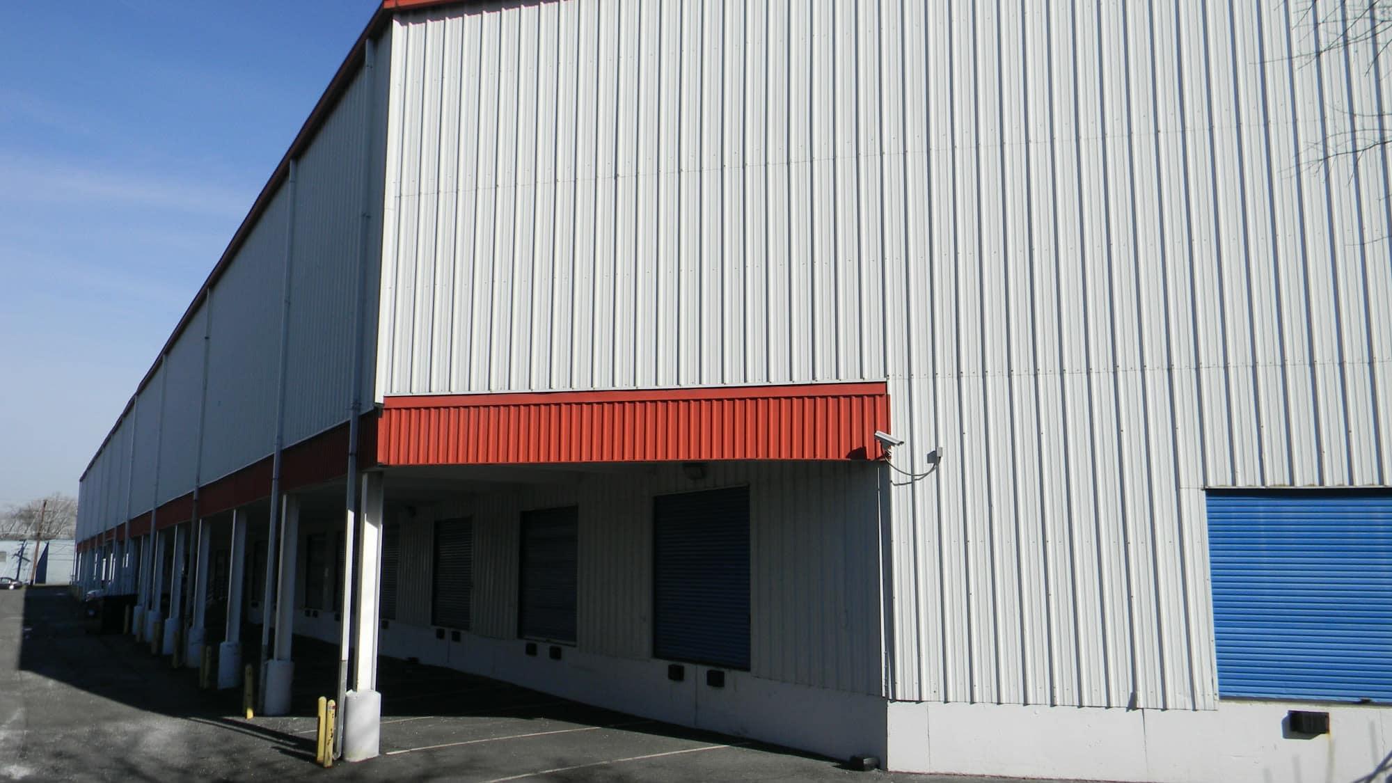 Covered loading area at Self Storage Plus in Alexandria, VA