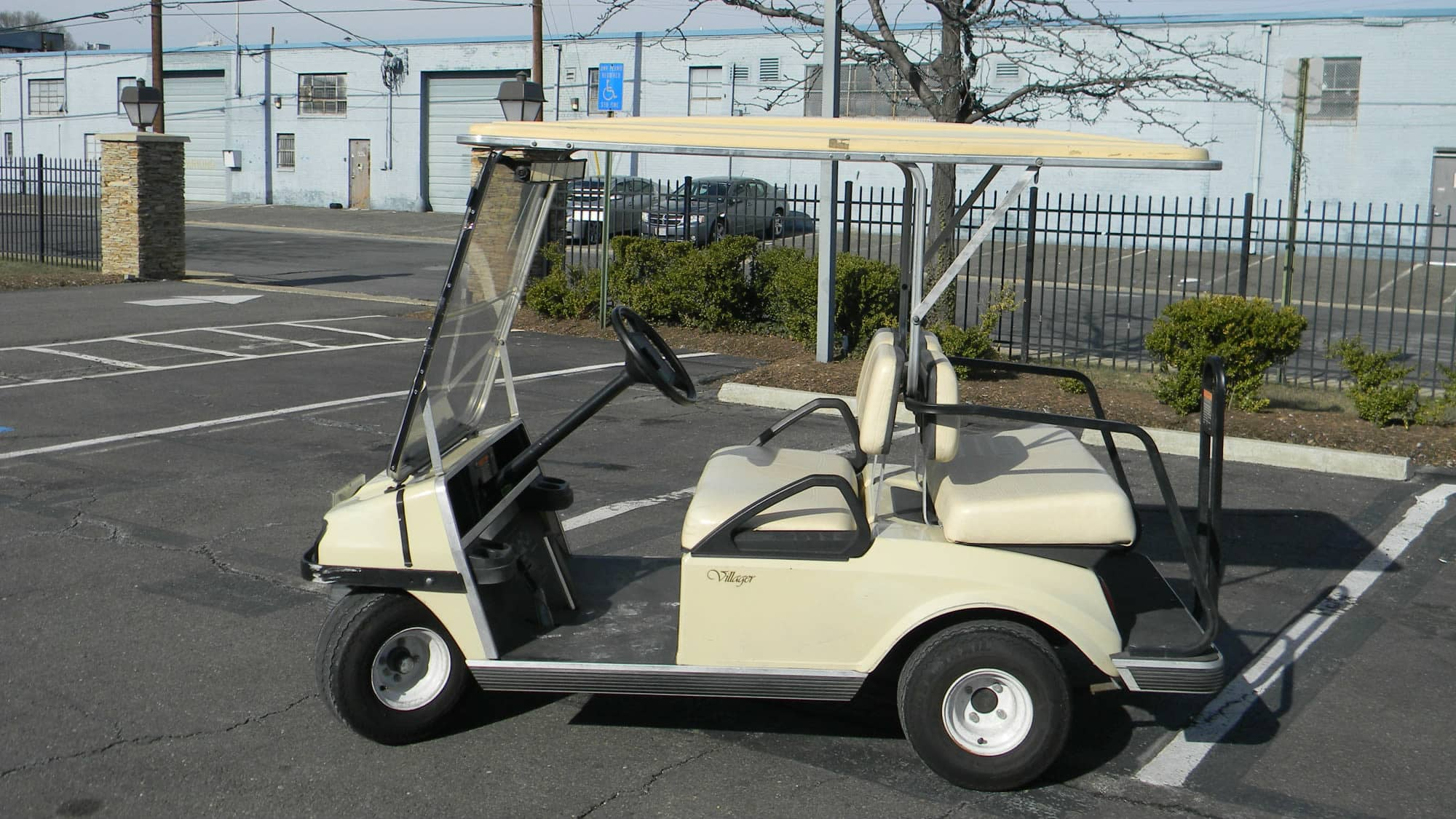 Managers cart at Self Storage Plus in Alexandria, VA