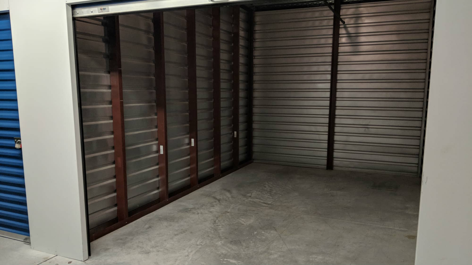 Empty unit at Self Storage Plus in Sterling, VA