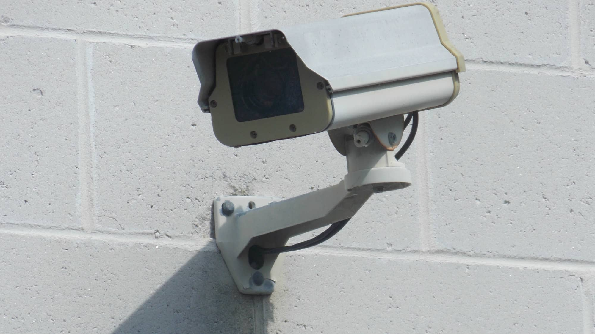 Security camera at Self Storage Plus in Sterling, VA