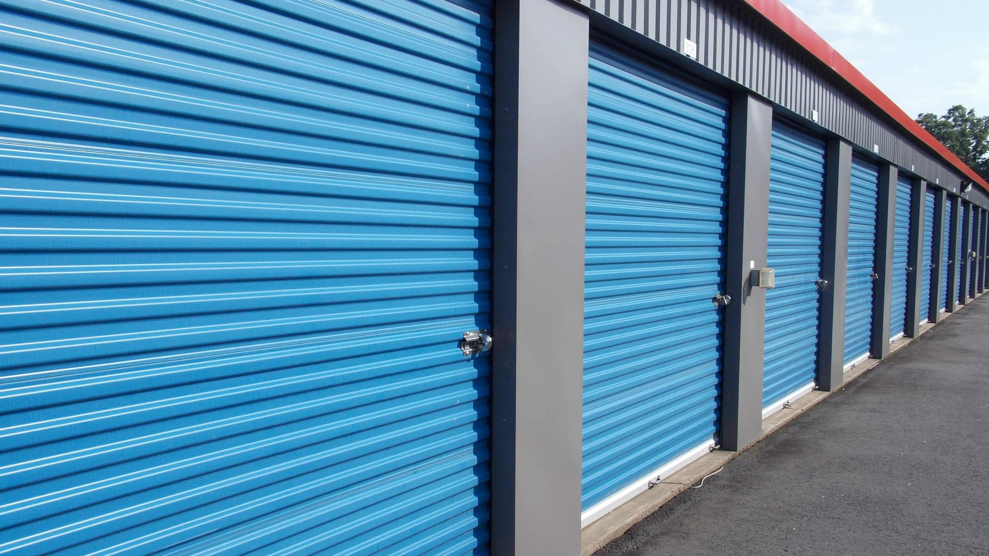 Exterior units at Self Storage Plus in Manassas, VA