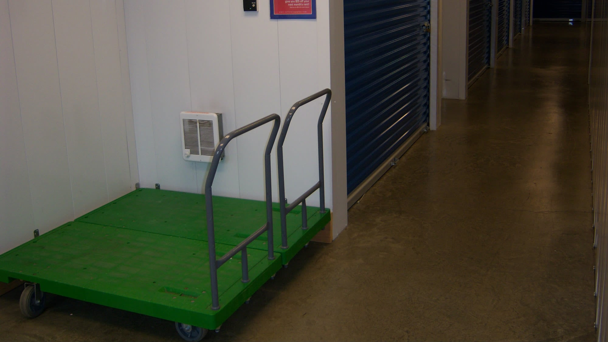 Carts available at Self Storage Plus in Manassas, VA