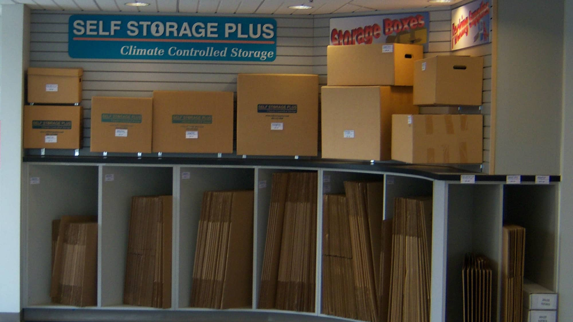Moving and packing supplies at Self Storage Plus in Manassas, VA
