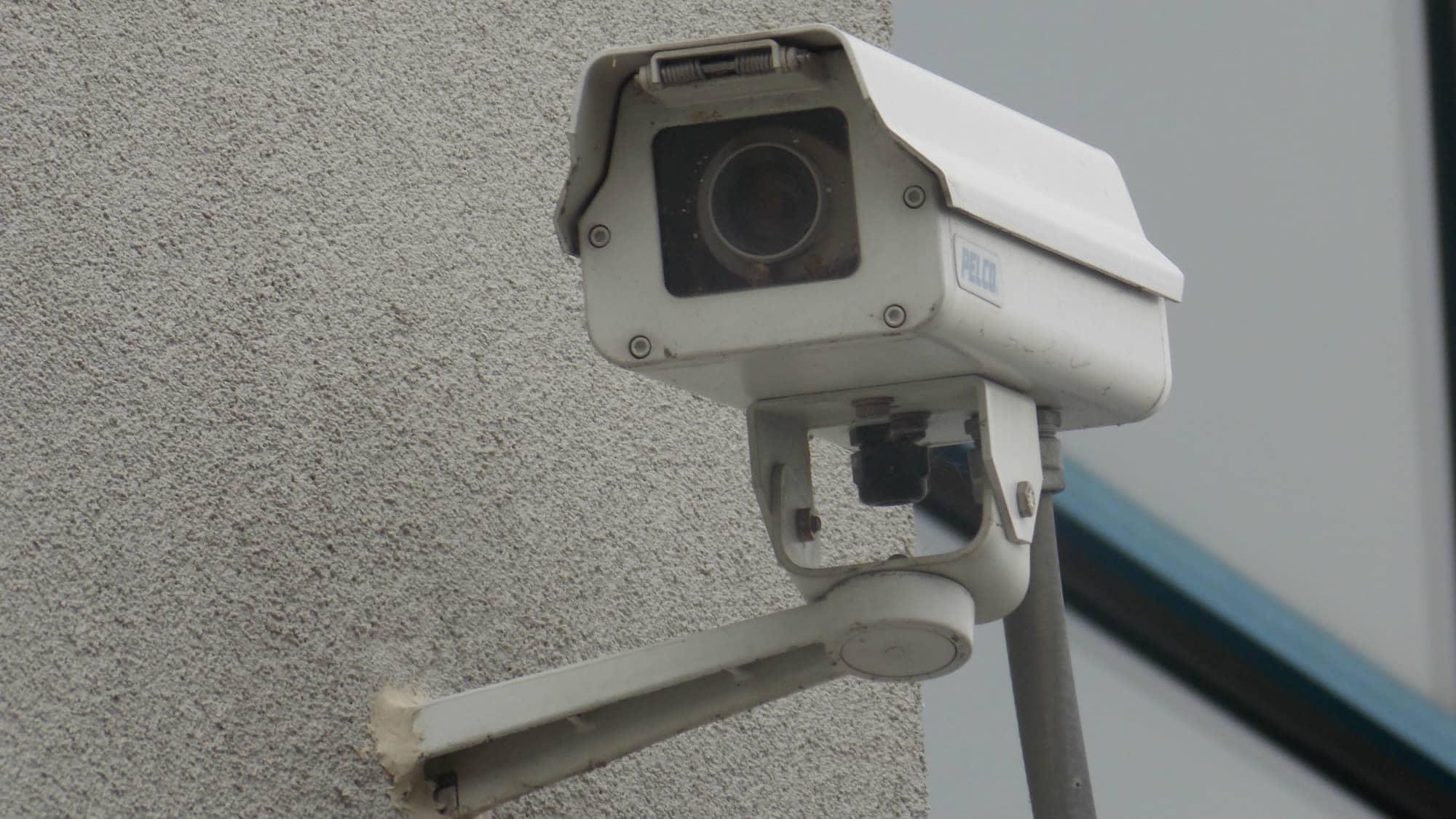 Security camera at Self Storage Plus in Arlington, VA
